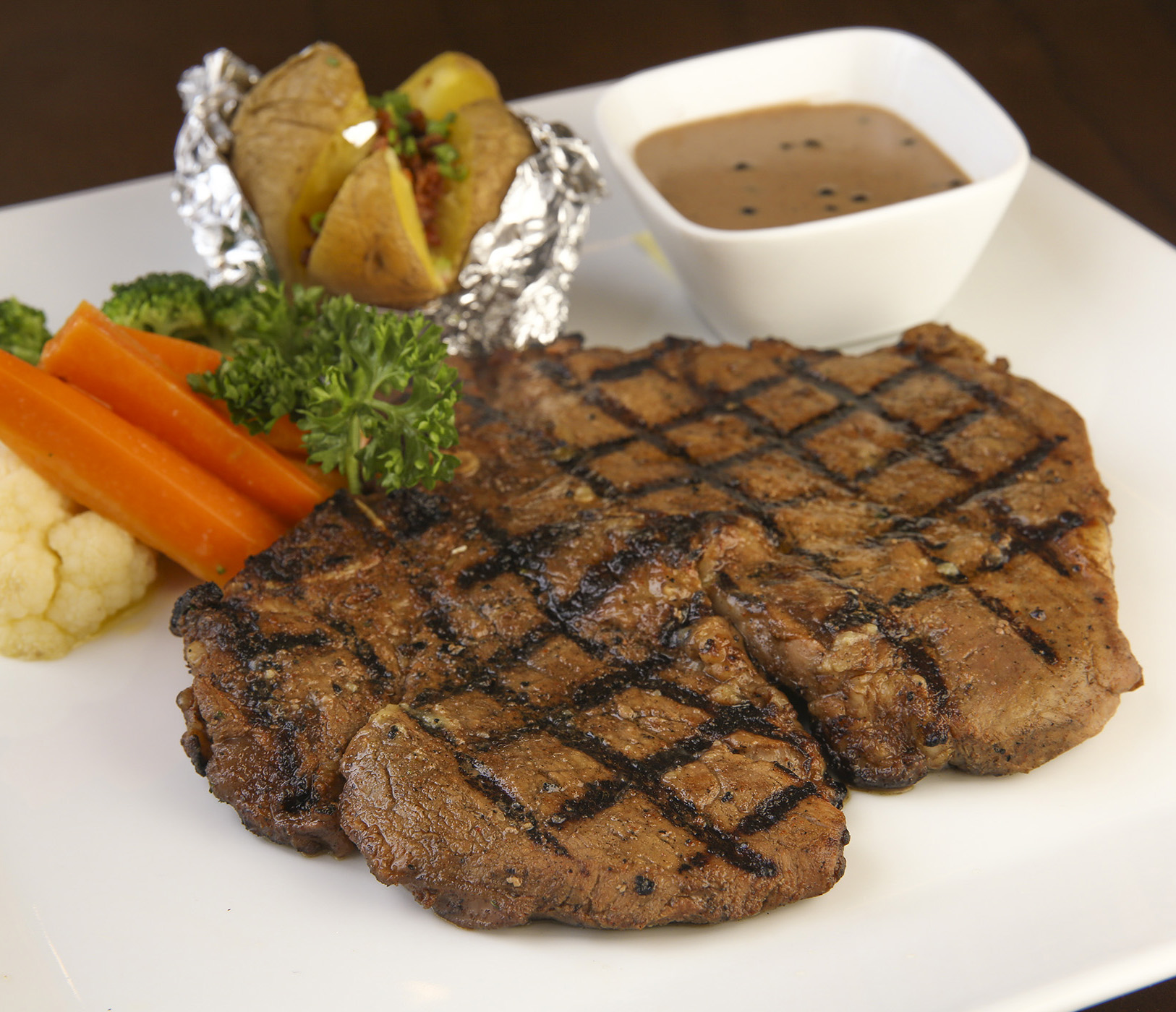Angus Ribeye Steak is one of the must-tries on the a la carte menu of Eastwood Cafe+Bar