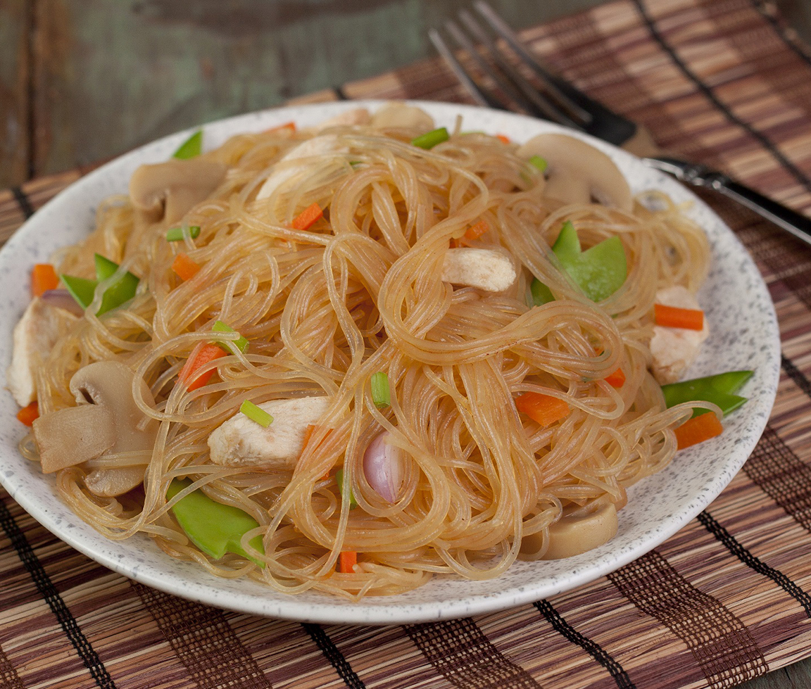 Noodle dishes symbolize long life