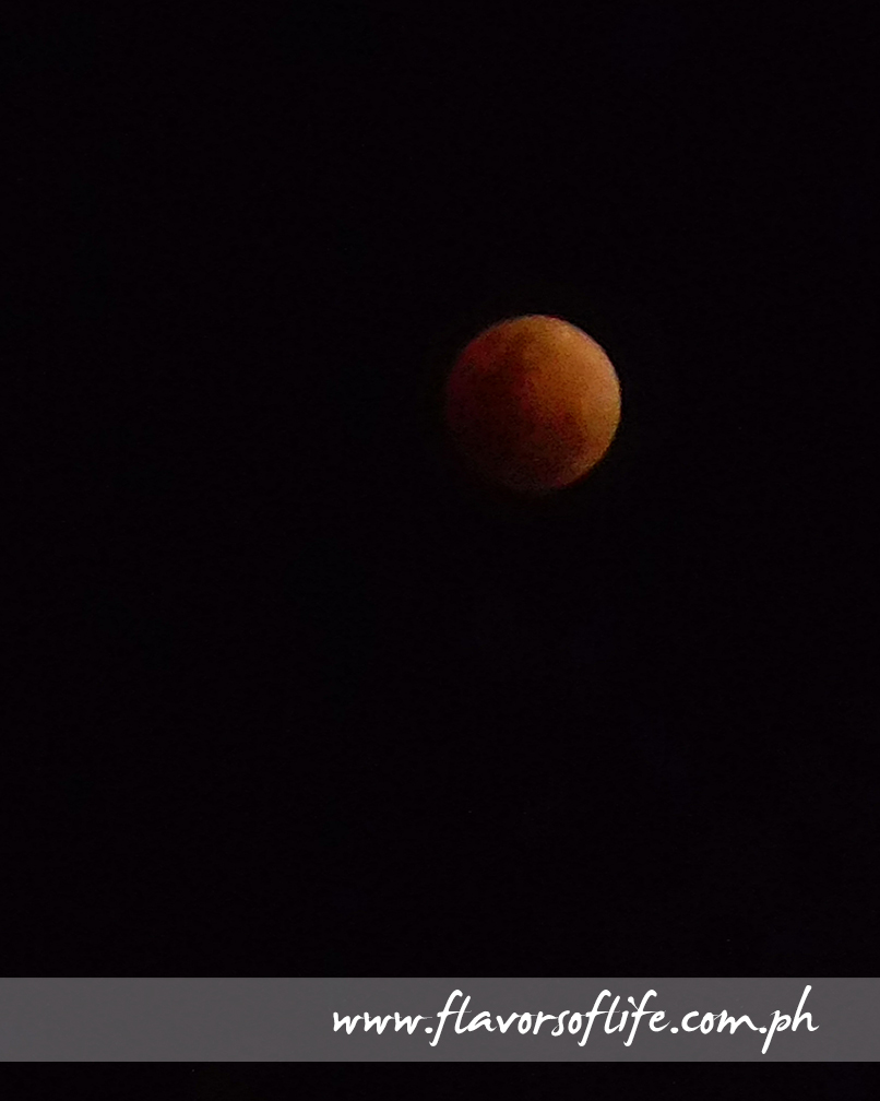 Super Blue Blood Moon that appeared in the night sky on January 31, 2018