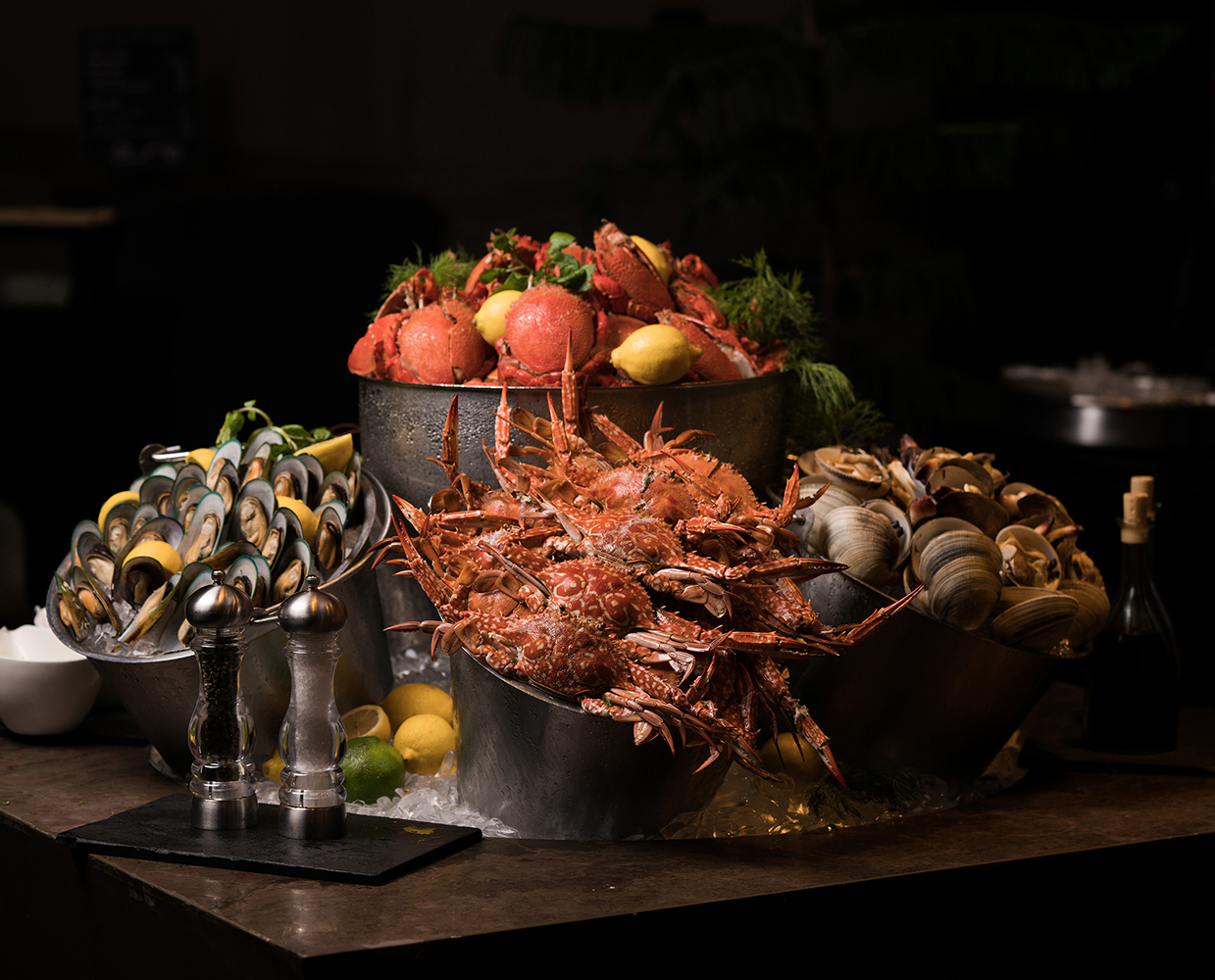 Exquisite fresh seafood at the Seafood Station