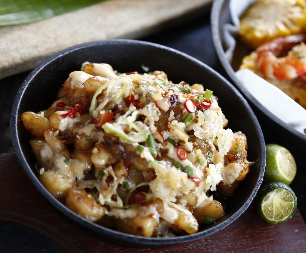 Manila Style Shrimp Sisig
