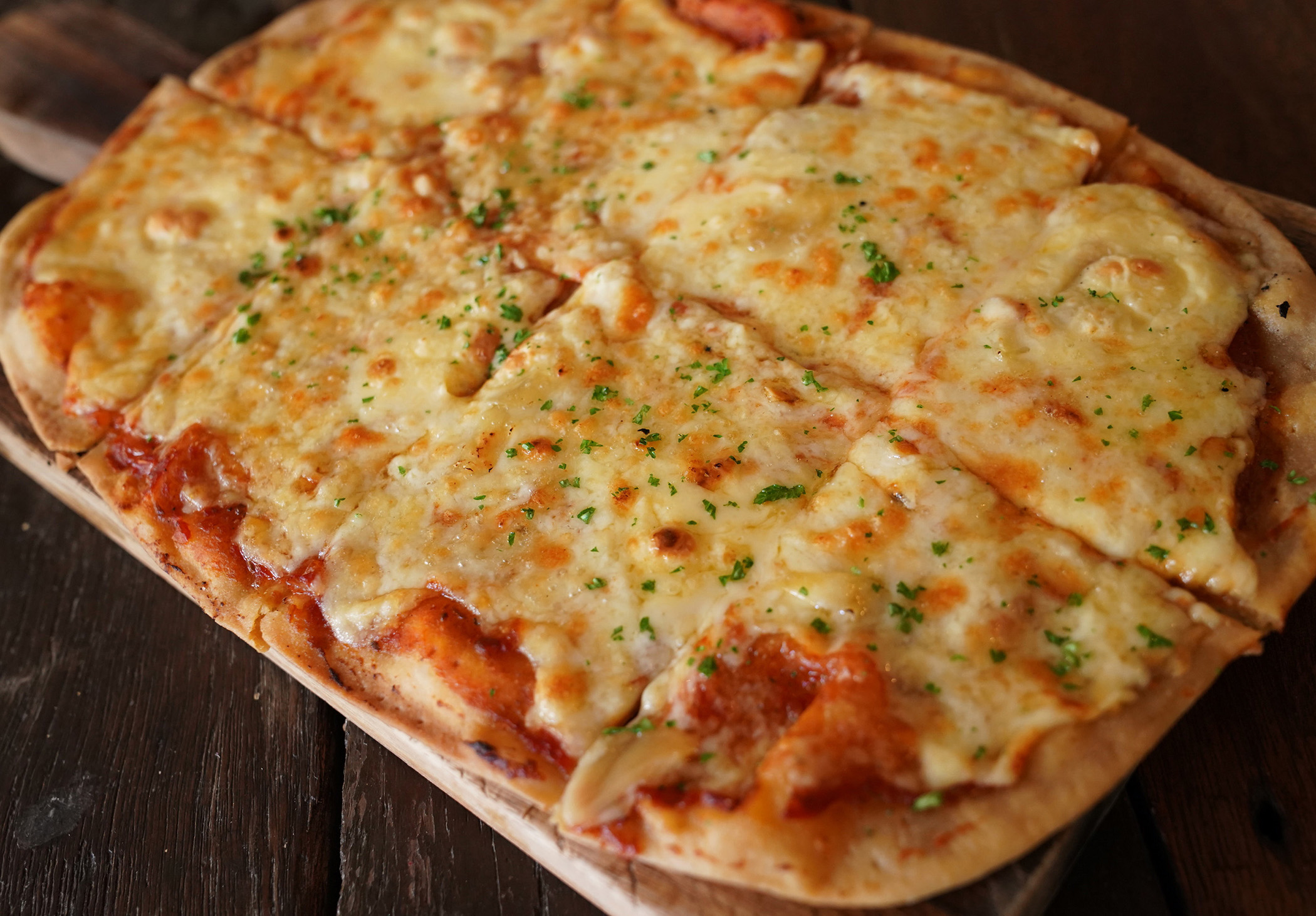 Four-cheese Pizza made with Anchor Shredded Mozzarella ...