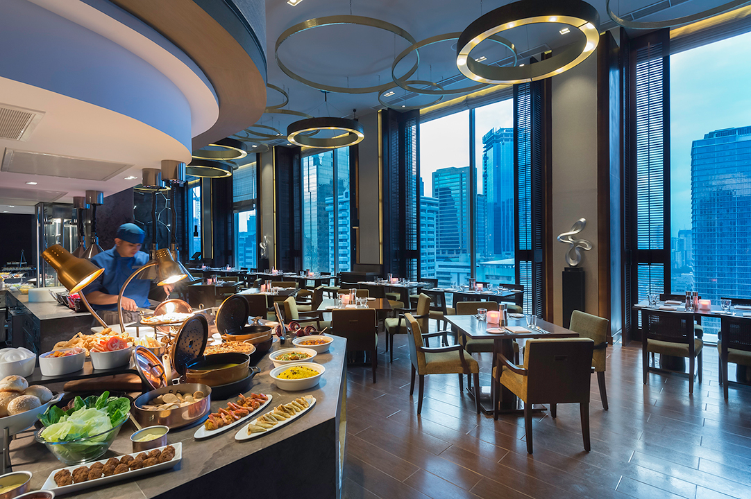 Marco Polo Ortigas Manila's Cucina restaurant features a different buffet theme every day