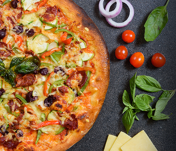 Make Your Own Pizza Wednesdays