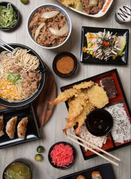 Bento boxes, rice bowls, noodles and more offered by Yoshinoya