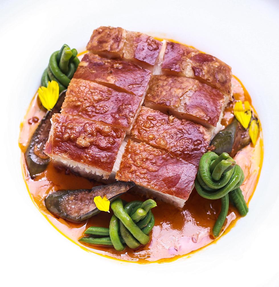 Crispy Pork Kare-Kare Macadamia