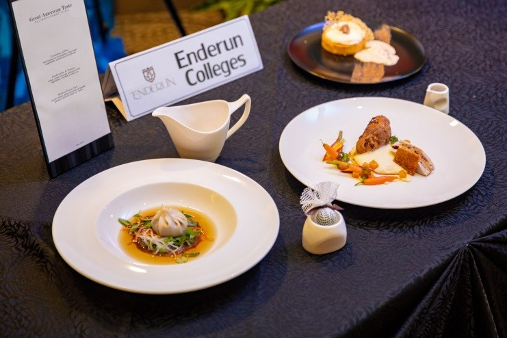 Enderun Colleges' appetizer, main dish and dessert won the grand prize for the school
