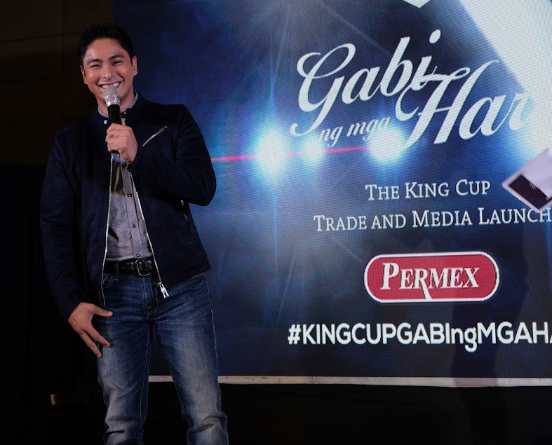 Coco Martin introduced as the new brand ambassador of King Cup Sardines