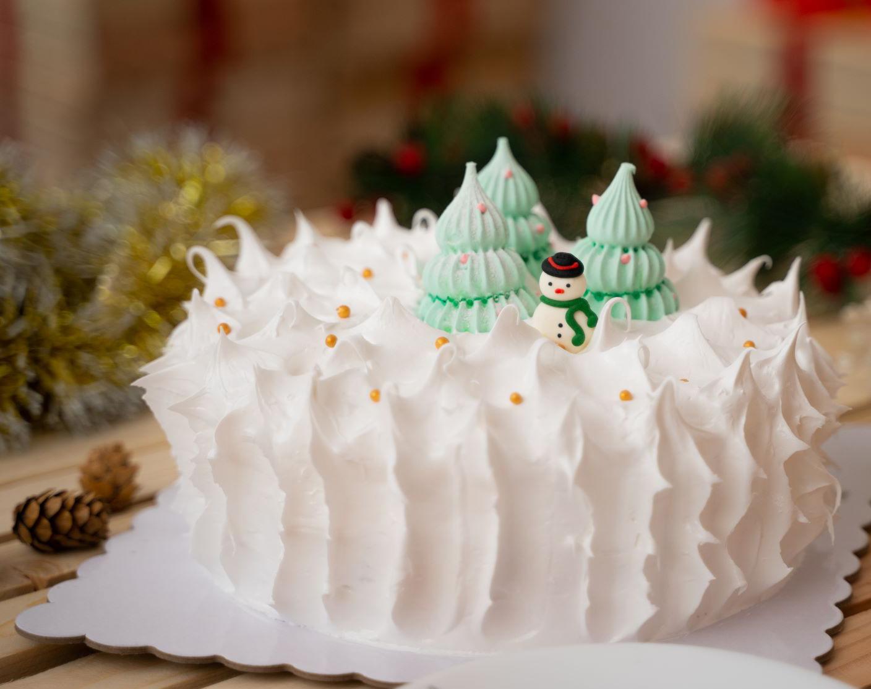 Holiday-designed Devil's Food Cake